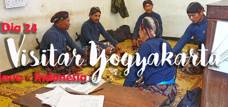 Dia 24 - Visitar YOGYAKARTA, a cidade imperial|Volta ao Mundo
