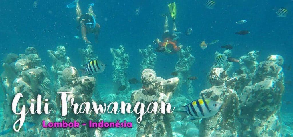 GILI TRAWANGAN - INDONÉSIA   O que visitar, ver e fazer nas ilhas Gilis
