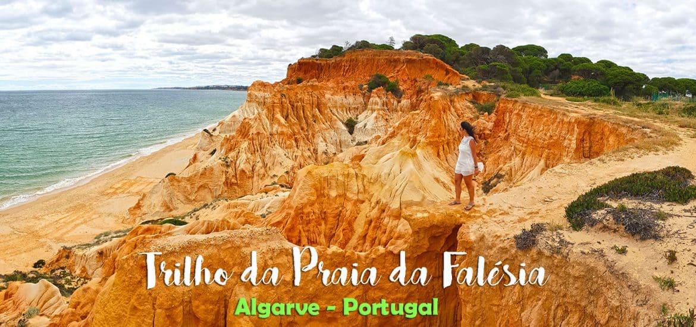 TRILHO DA PRAIA DA FALÉSIA | Um passeio pelas arribas de uma das mais belas paisagens algarvias