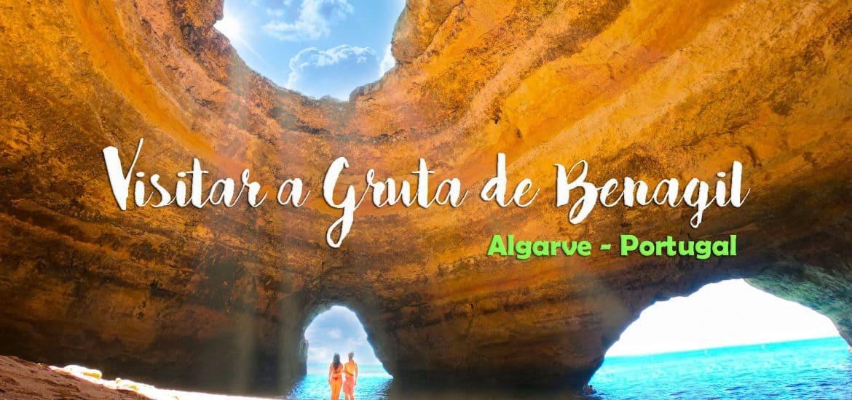 Visitar a GRUTA DE BENAGIl | Tudo o que precisa saber para chegar ao algar de Benagil, no Algarve
