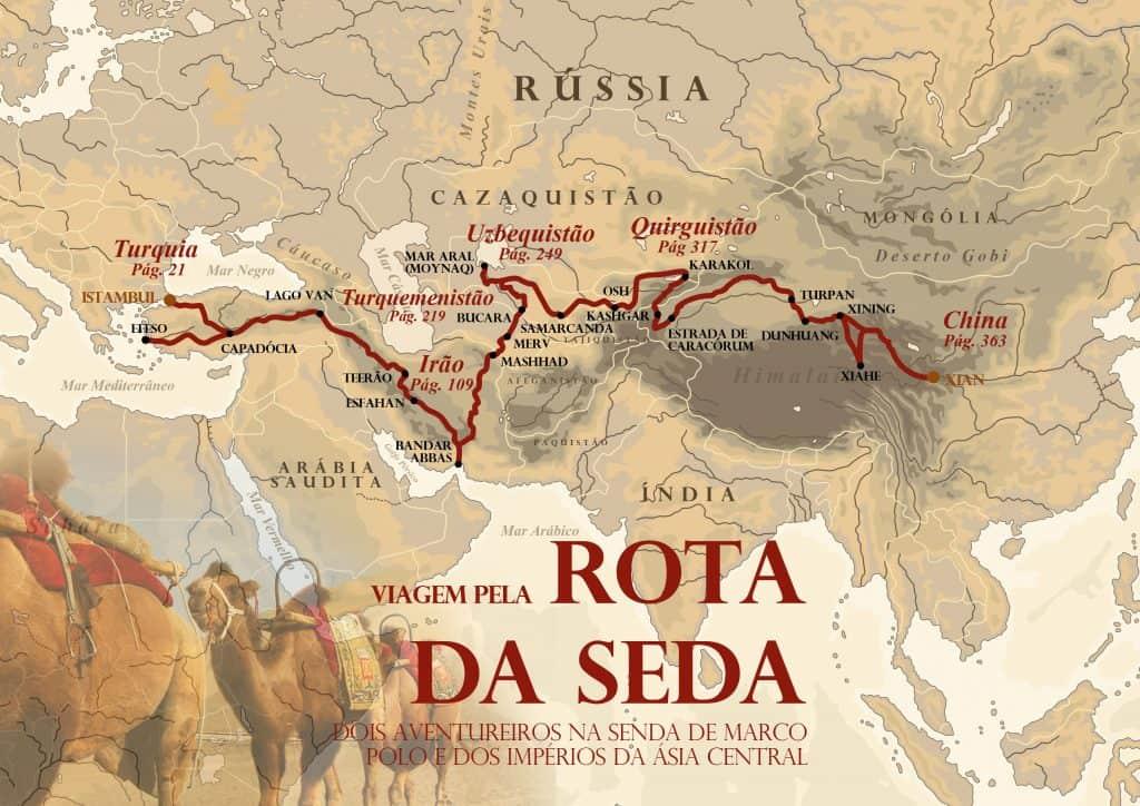 NOVO LIVRO - Viagem pela Rota da Seda | Dois aventureiros portugueses na senda de Marco Polo e dos Impérios da Ásia Central