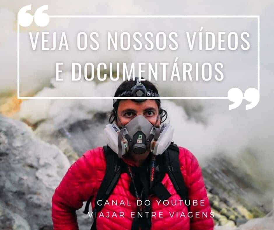 Viajar entre Viagens no youtube