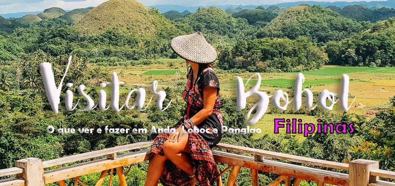 BOHOL - FILIPINAS | O que visitar e fazer em Anda, Loboc e Panglao