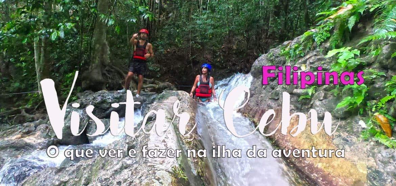 CEBU - FILIPINAS | O que visitar, ver e fazer em Moalboal e Cebu City