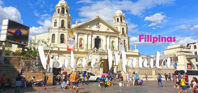 MANILA - FILIPINAS, O que visitar e fazer na emblemática capital